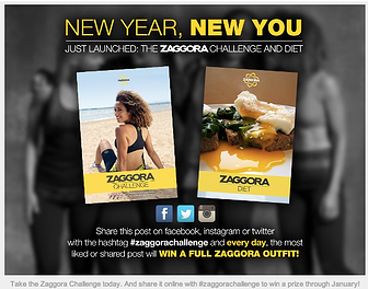 New Year New You Take the New Zaggora Challenge
