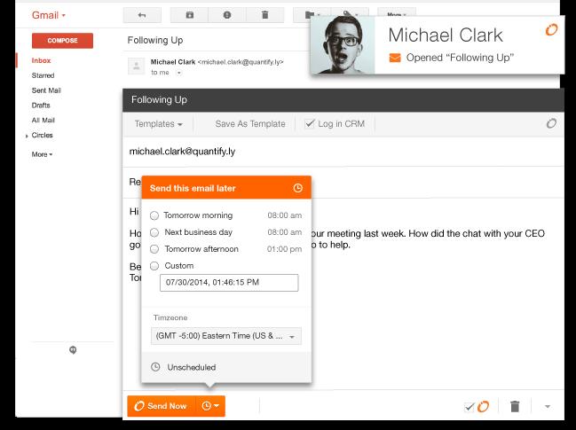HubSpot Sales - E-Mail-Vorlage