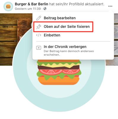 facebook-beitrag-fixieren