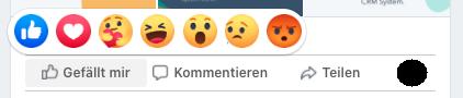 facebook-post-reaktionen