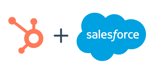 HubSpot & Salesforce Logos