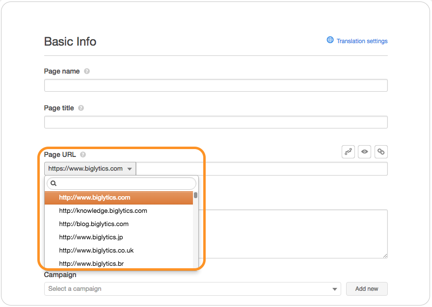 HubSpot Marketing Enterprise – Verwalten Sie mehrere Domains und Subdomains bequem an einem Ort