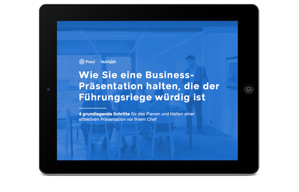 Business-Präsentation