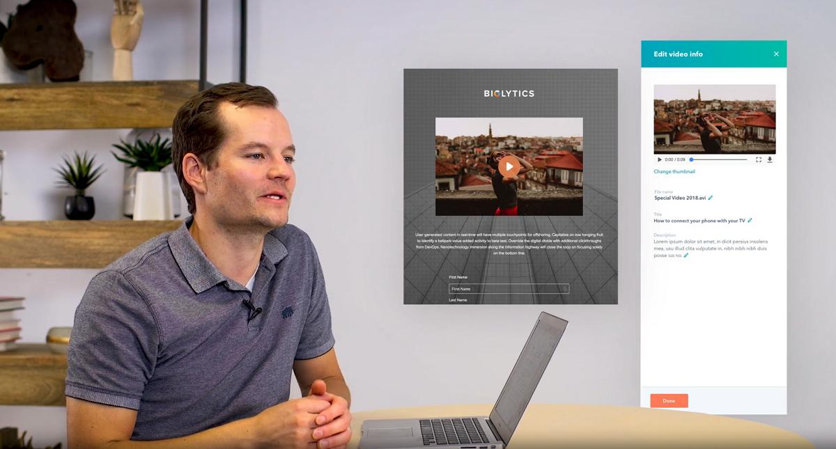 Video Hosting direkt in HubSpot