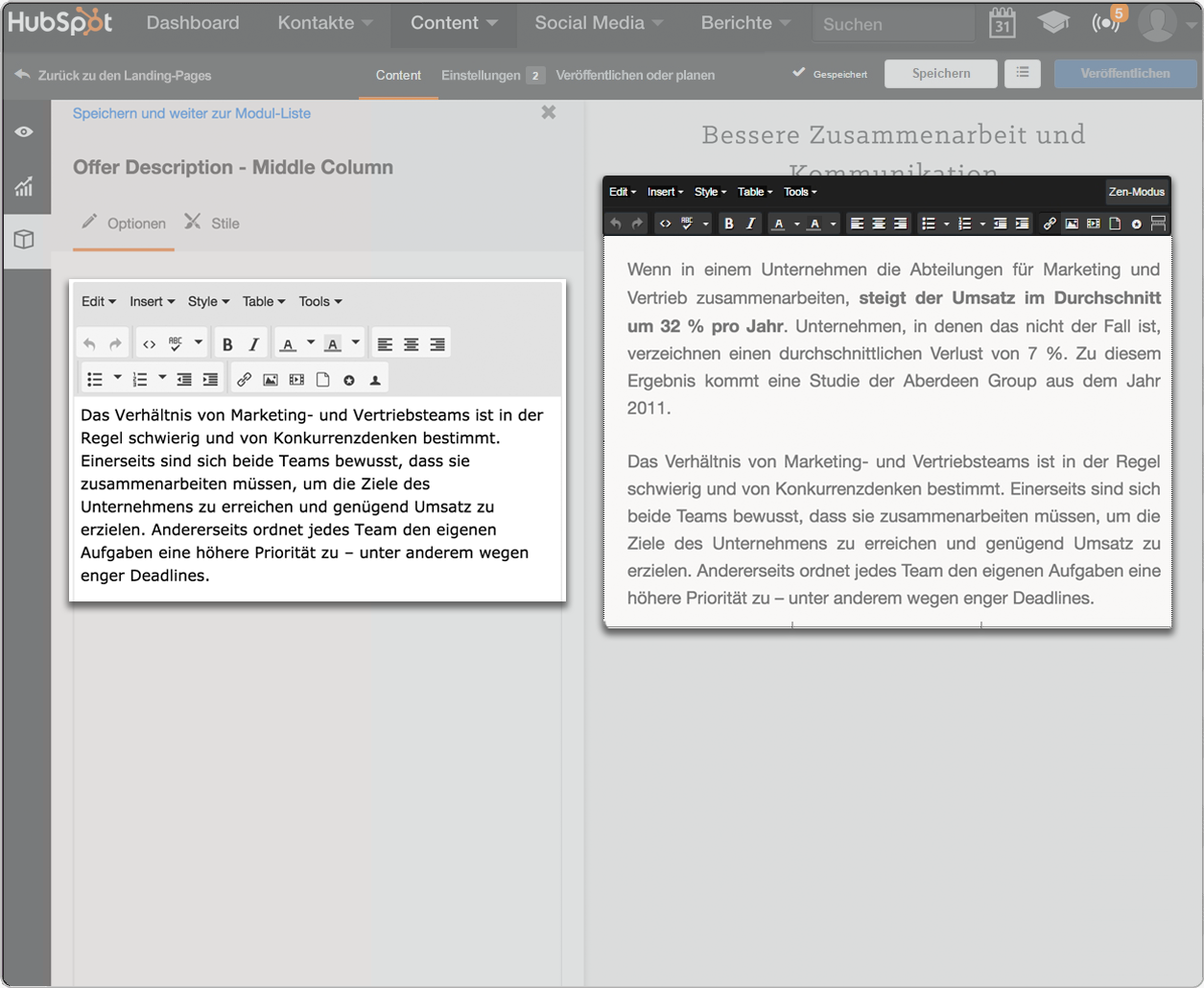 Die Blogging-Software von HubSpot – CTAs im Handumdrehen hinzufügen